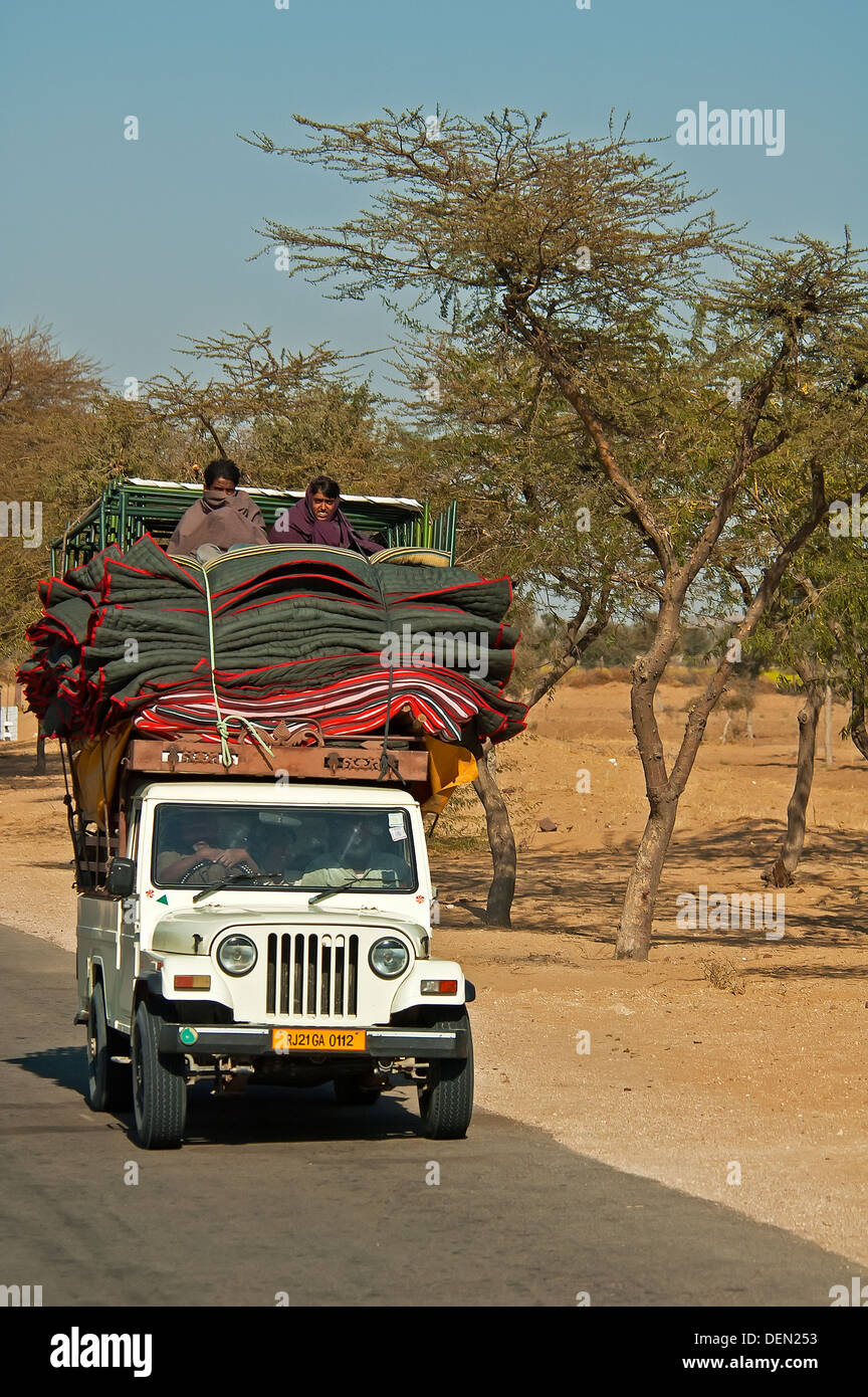 Transport indien Photo Stock