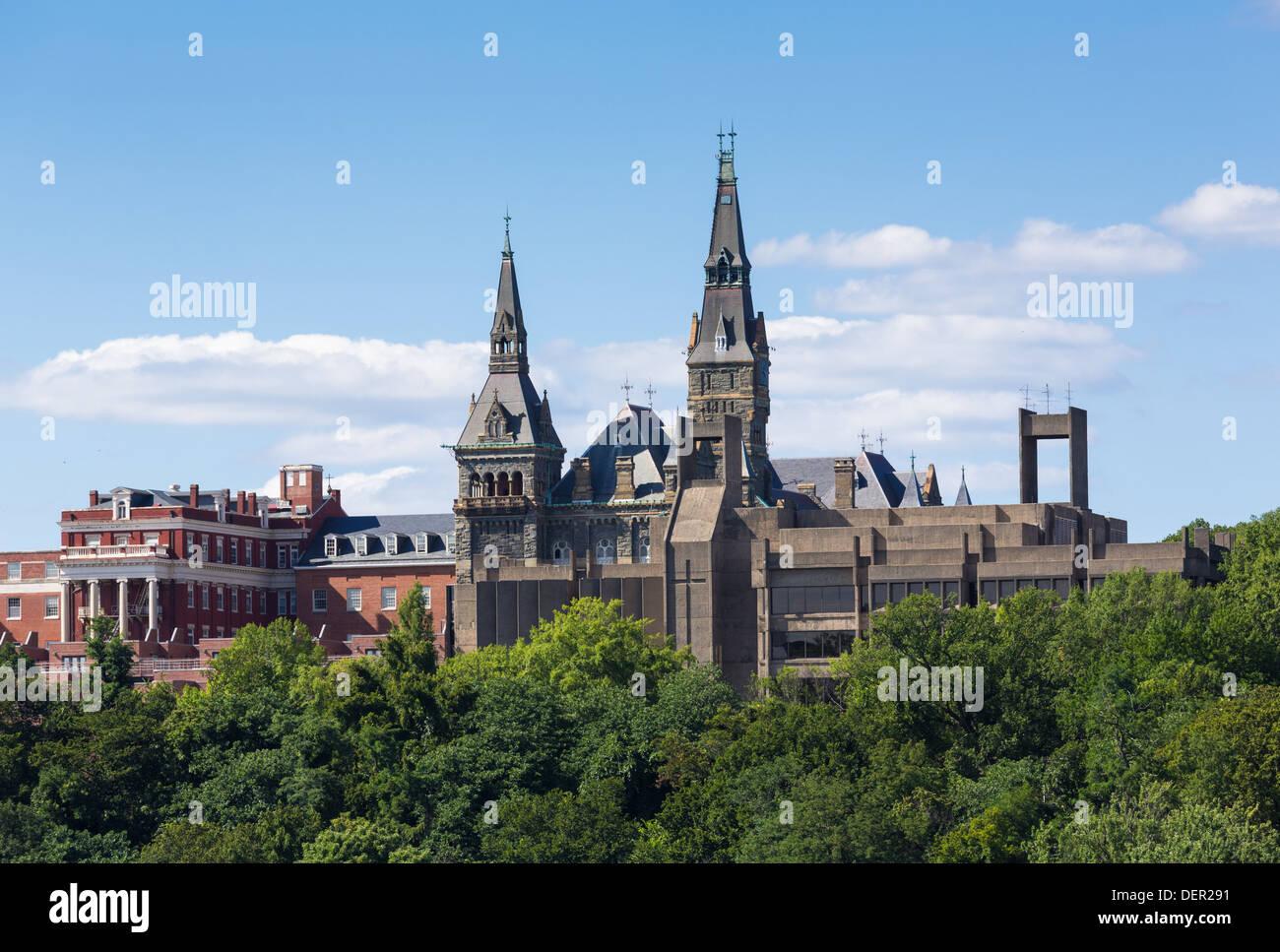 L'Université de Georgetown à Washington DC Photo Stock