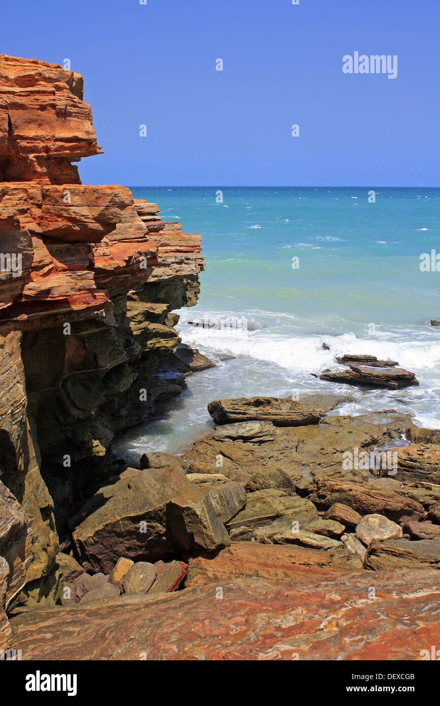 Point Gantheaume Broome Australie occidentale du Nord Banque D'Images