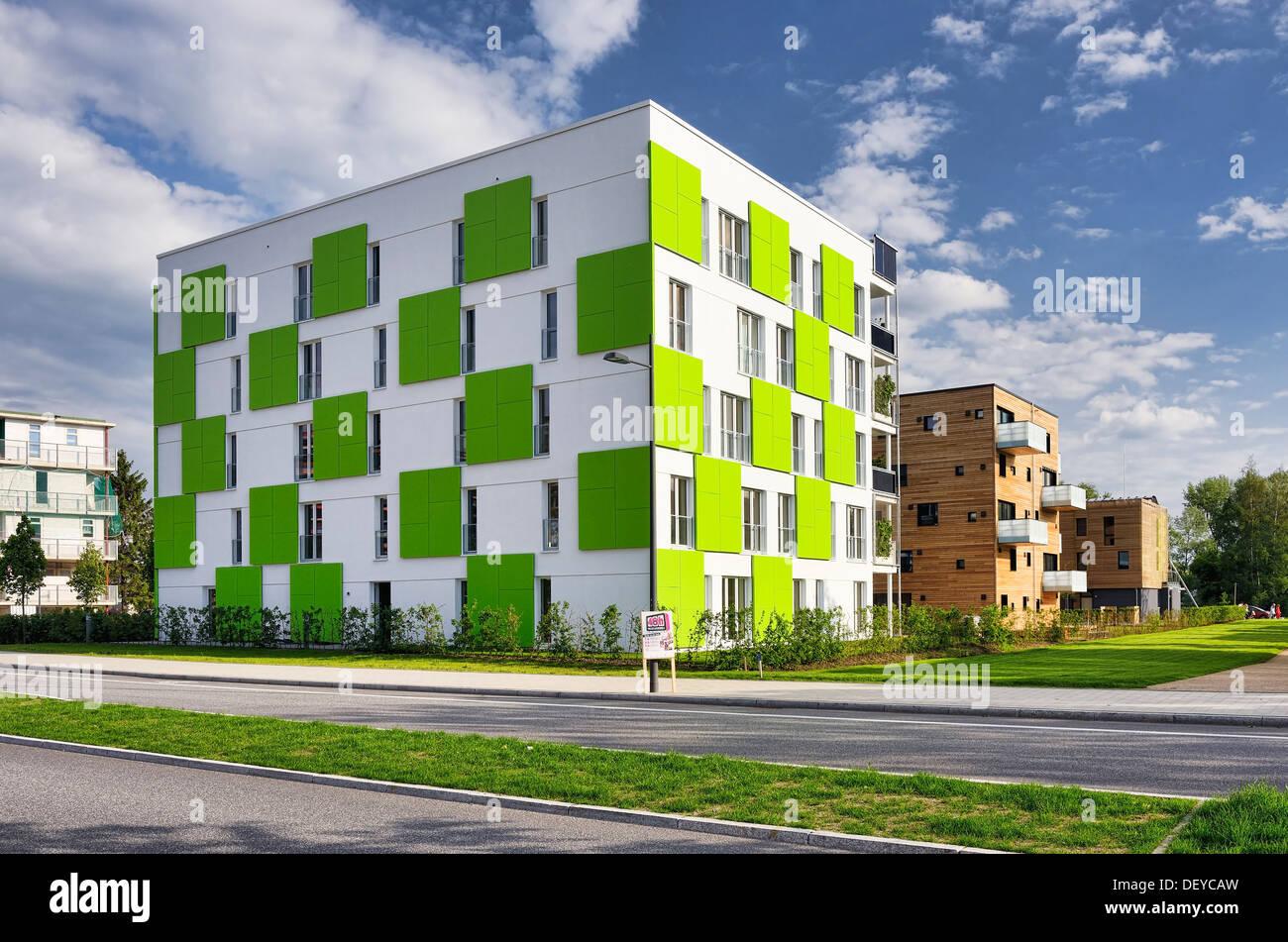 Étude de cas du projet de construction d'IBA House dans le château de Wilhelm, Hambourg, Allemagne, Europe, IBA-Bauprojekt House en étude de cas Wilhelms Photo Stock