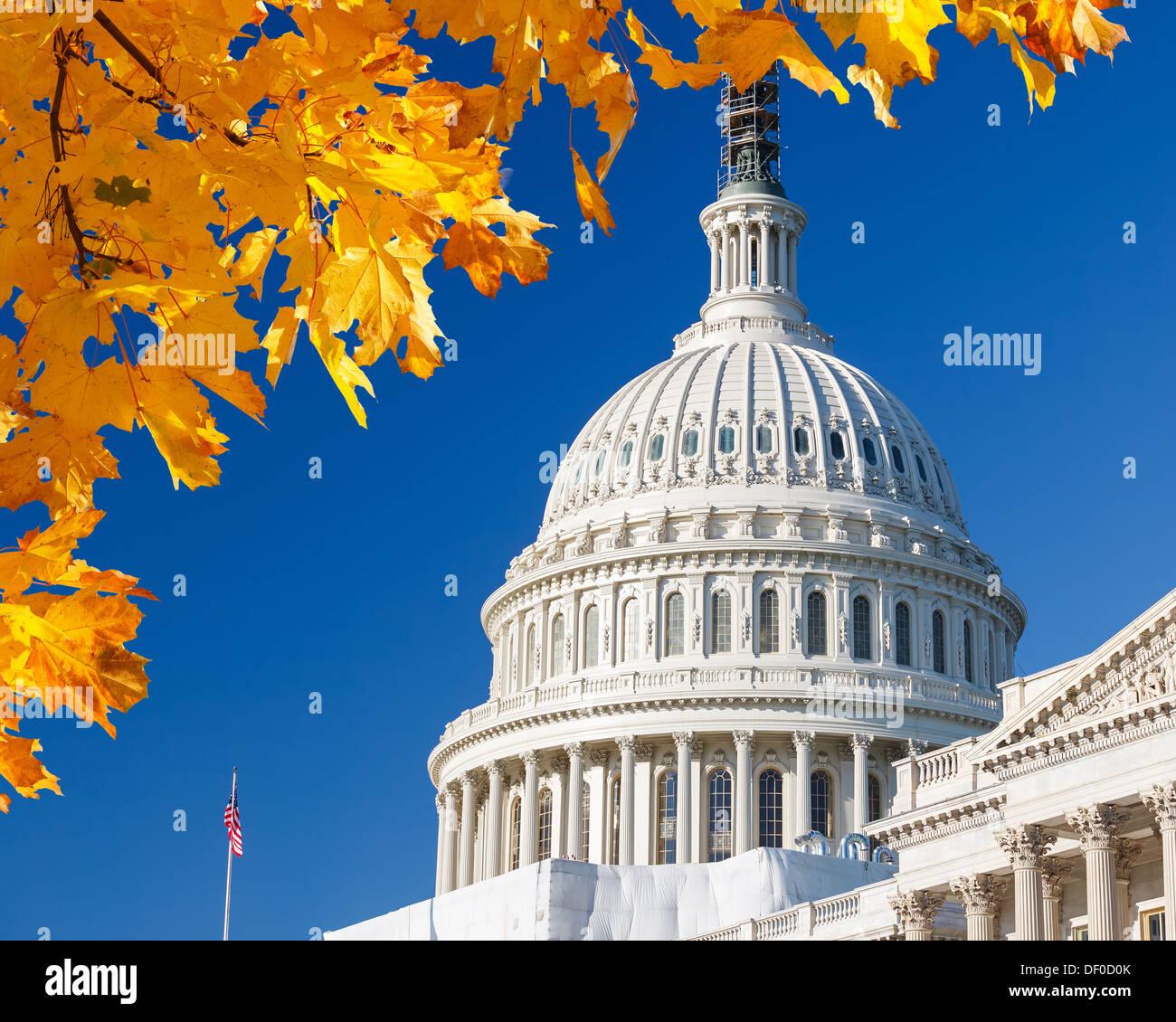 U.S. Capitol Banque D'Images