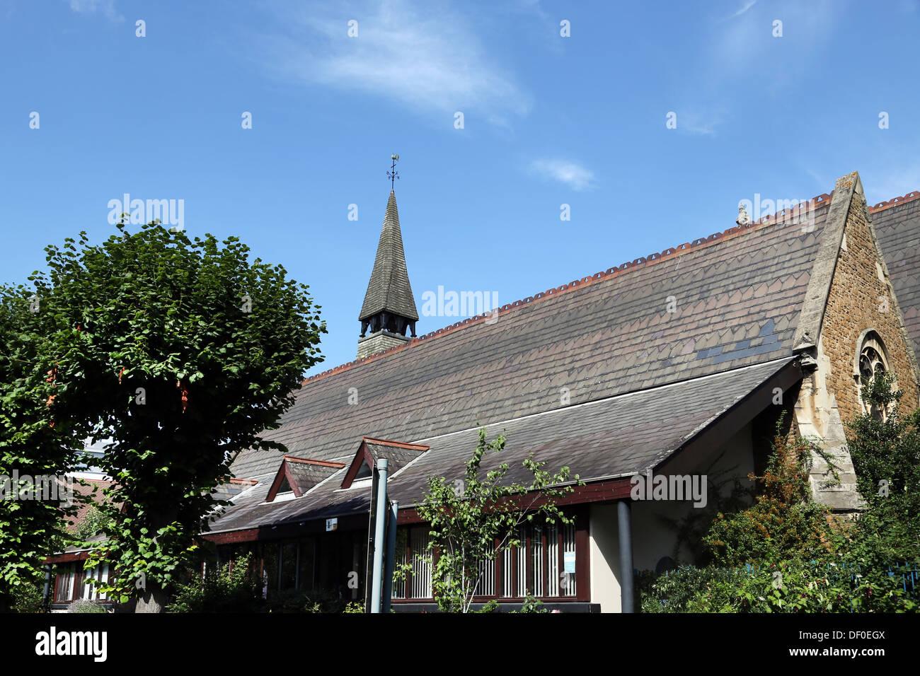 Angleterre Londres Wimbledon Holy Trinity Church Photo Stock