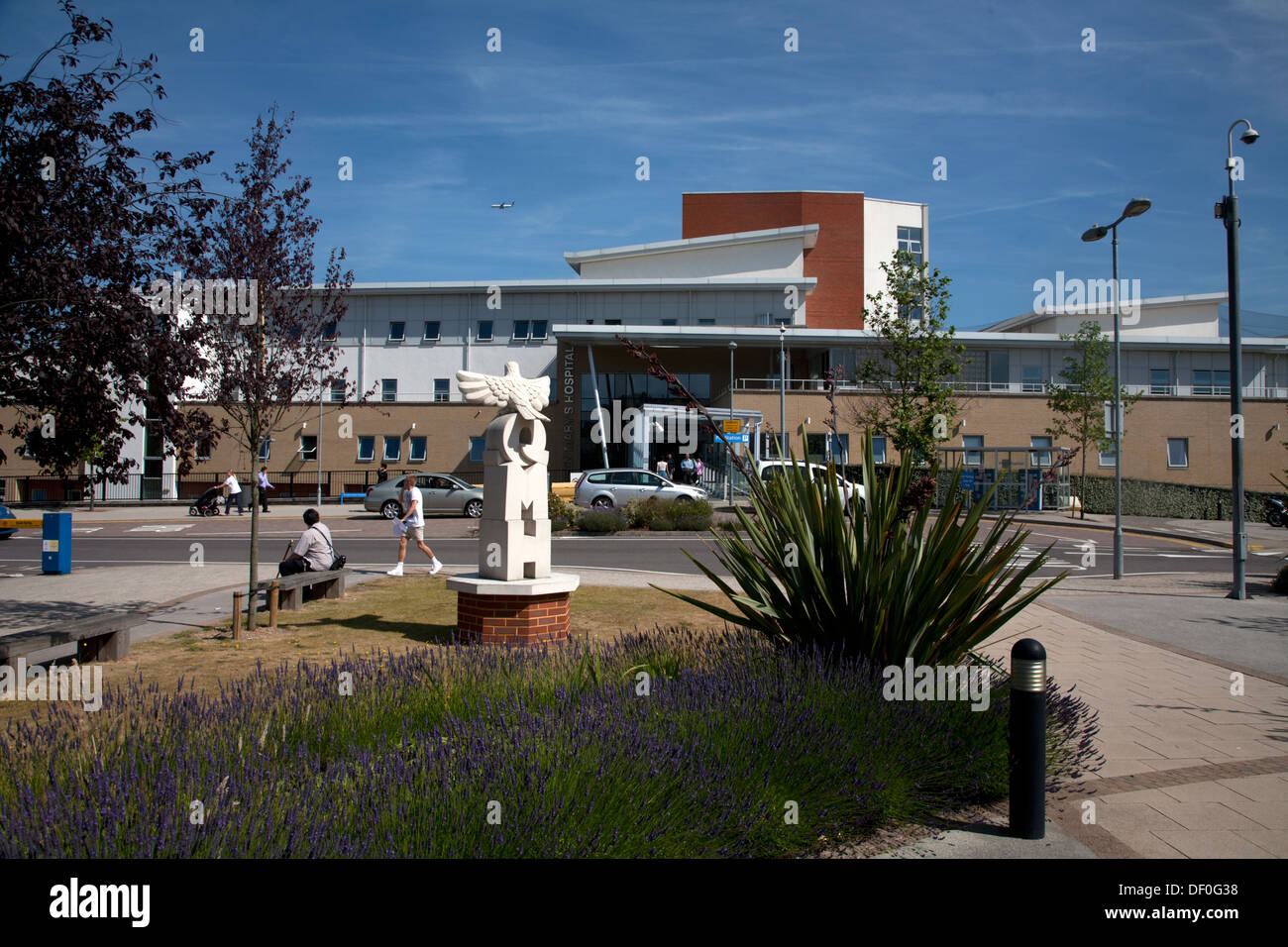 L'hôpital Queen Mary de Londres Angleterre Roehampton Photo Stock