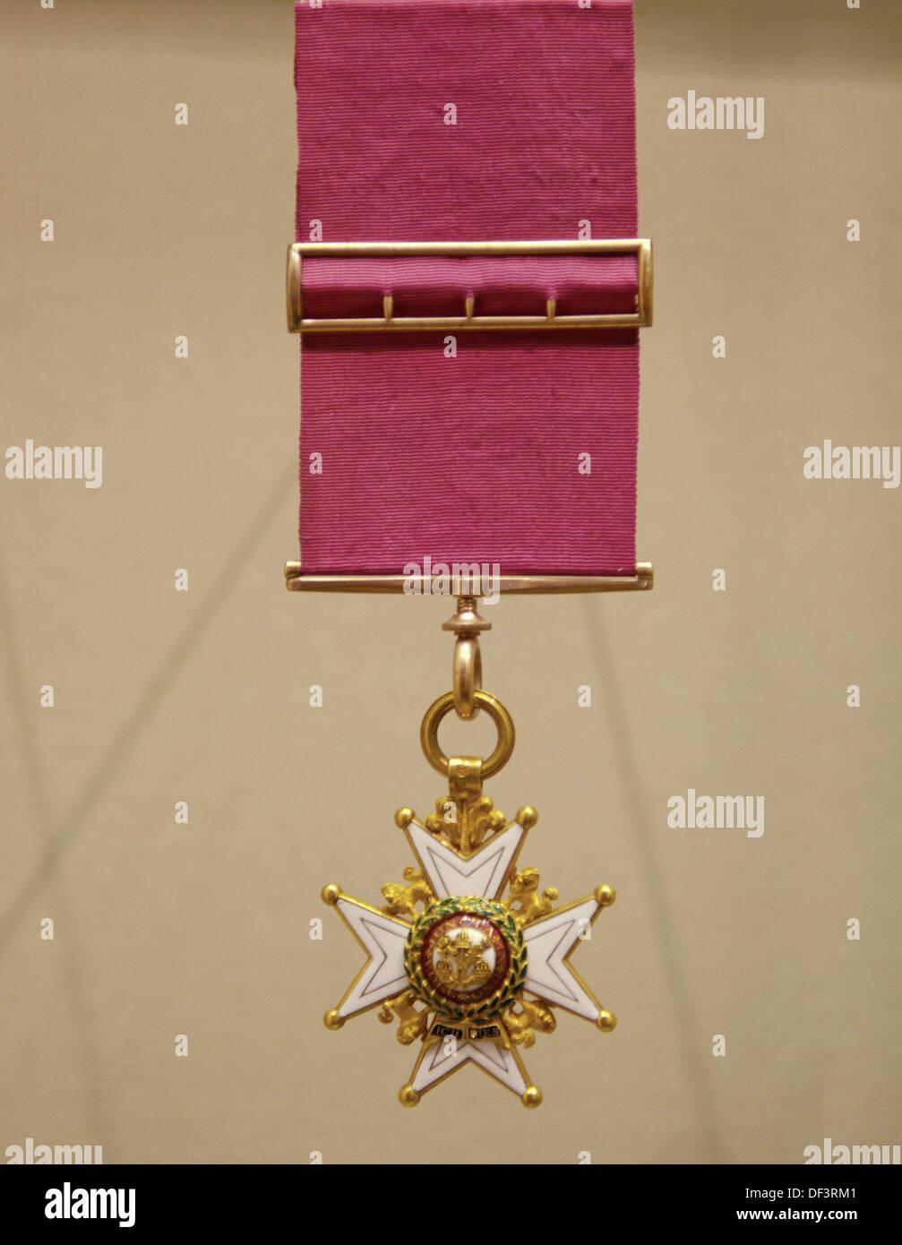 Le Très honorable Ordre du Bain. Musée canadien de la guerre. Ville d'Ottawa (capitale fédérale). Province de l'Ontario. Le Canada. Photo Stock