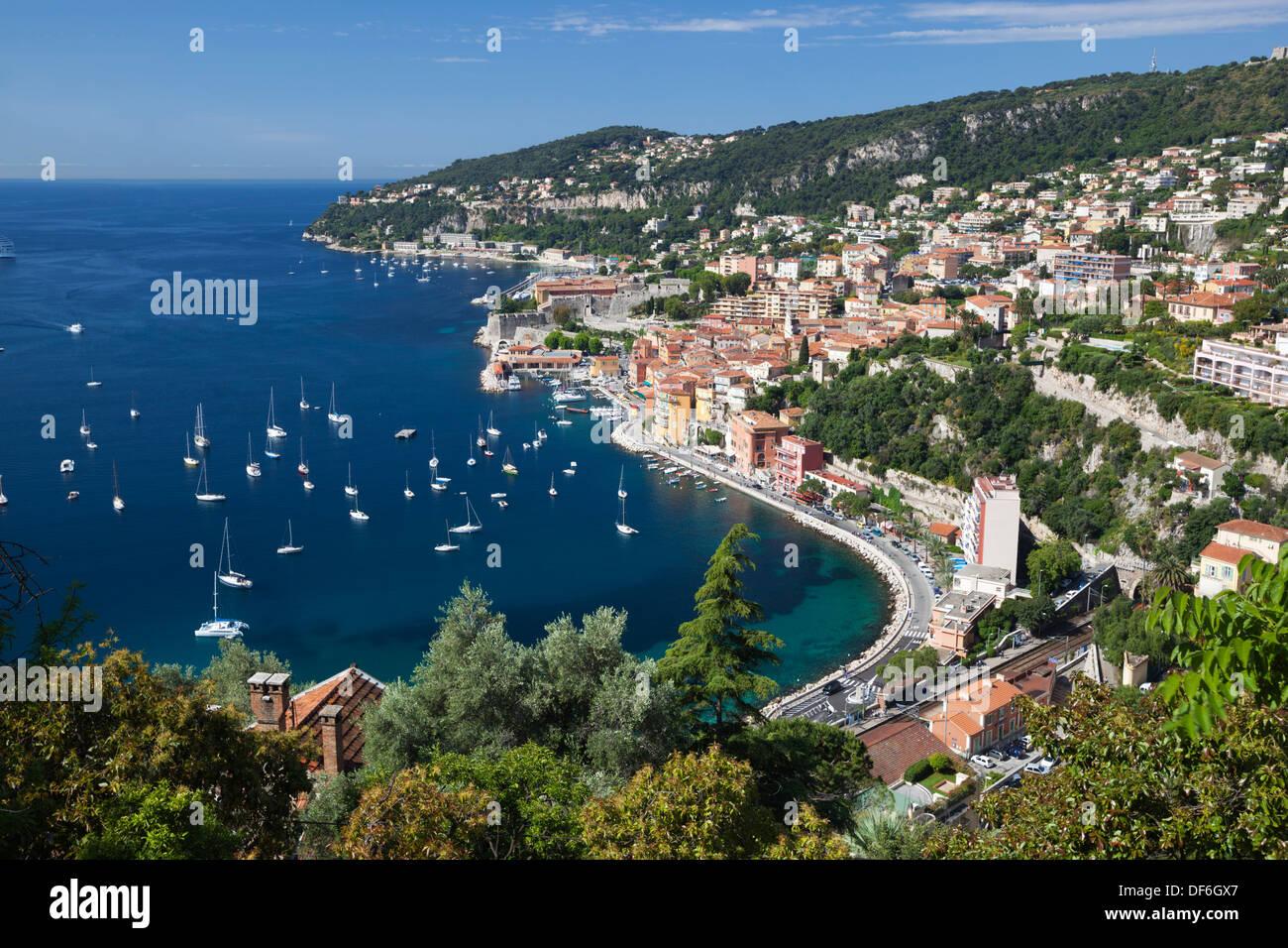 Villefranche-sur-Mer, Provence-Alpes-Côte d'Azur, France, Europe Photo Stock