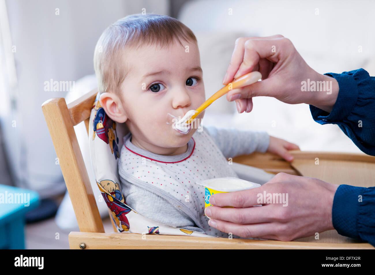 Un repas de l'enfant Photo Stock