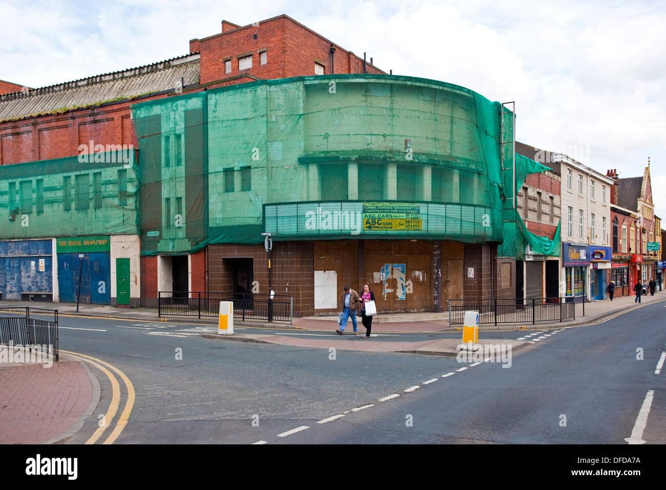 Fermé le cinéma ABC à Wakefield West Yorkshire UK Photo Stock