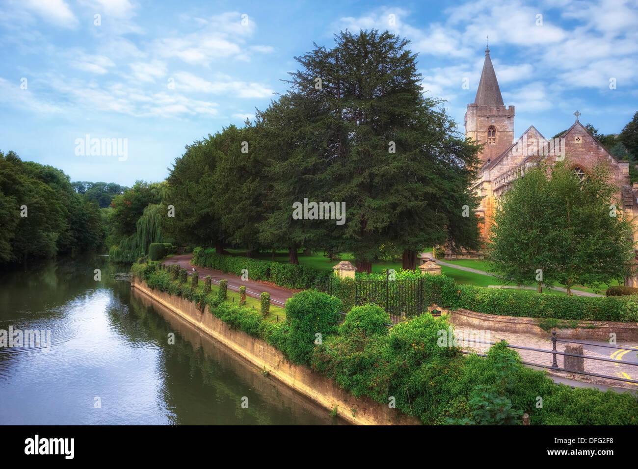 Bradford on Avon, Holy Trinity Church, Wiltshire, Angleterre, Royaume-Uni Photo Stock