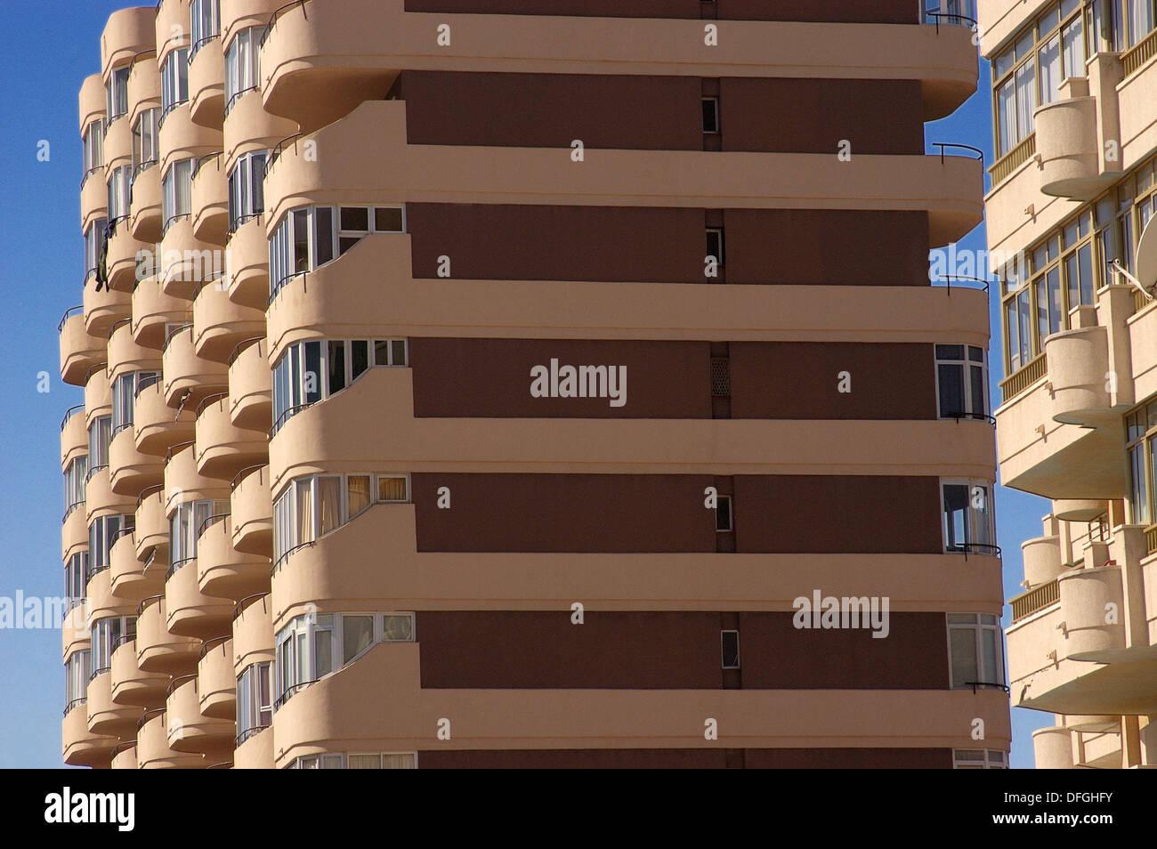 L'urbanisme. Fuengirola. Costa del Sol, Malaga province. Espagne Banque D'Images