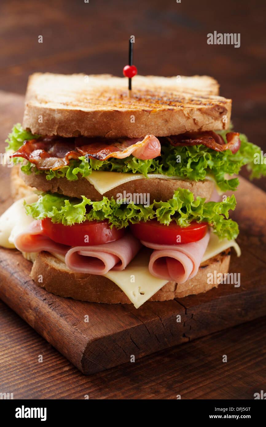 Club sandwich Photo Stock