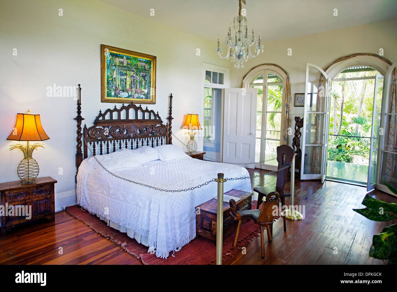 Chambre A Coucher Ernest Hemingway Home And Museum Key West