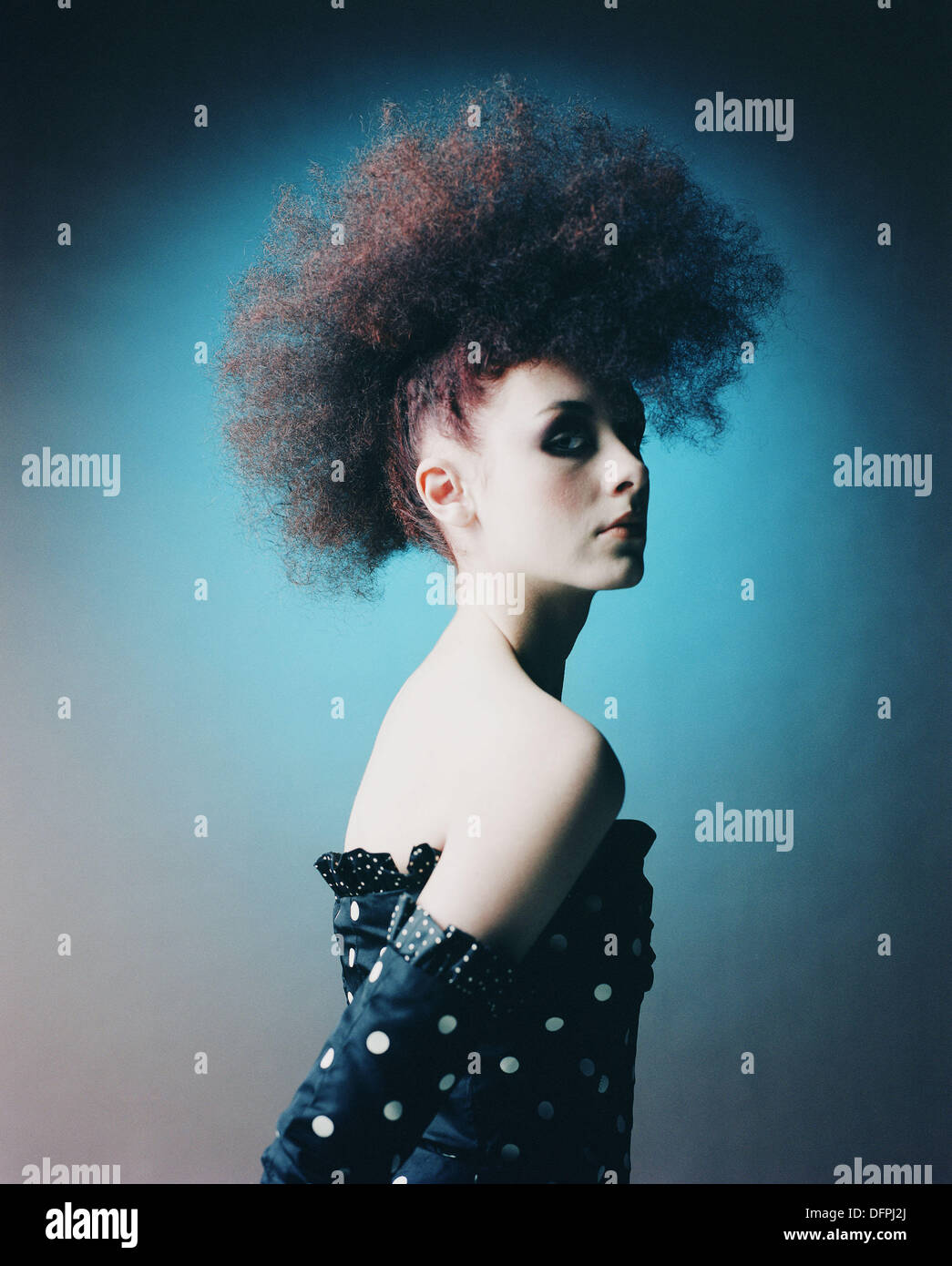 Image mode des jeunes femme Photo Stock