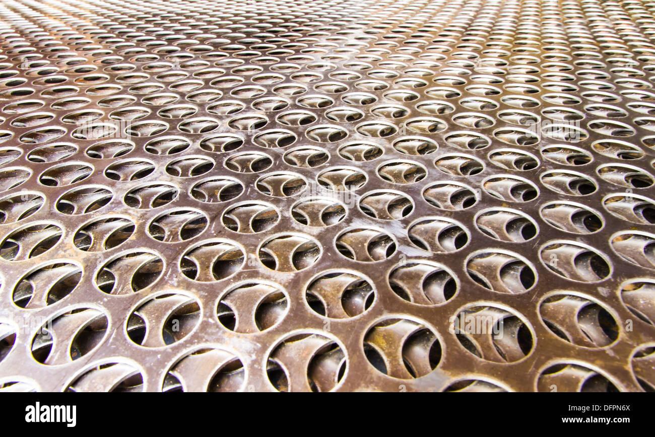 La grille métallique Photo Stock
