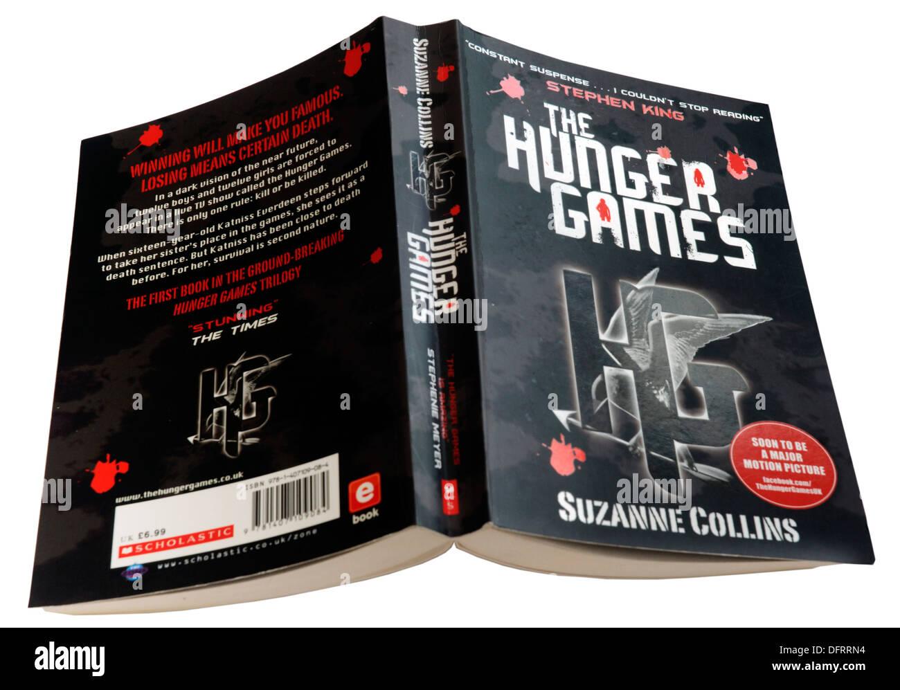 Les Jeux de la faim par Suzanne Collins Photo Stock