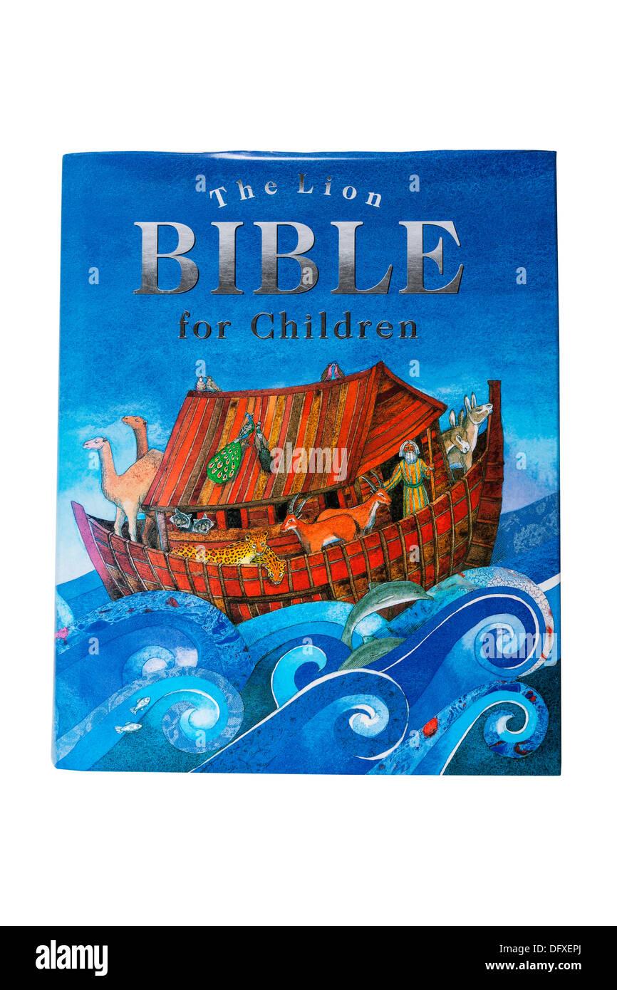 Un livre pour enfants sur un fond blanc Banque D'Images