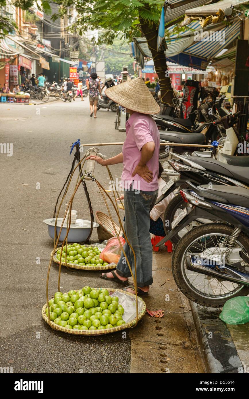 Fournisseur apple à Hanoi, Vietnam Photo Stock