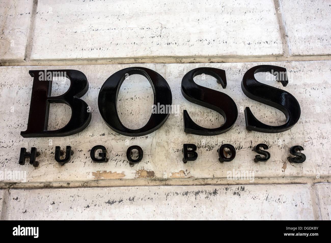 Hugo Boss Logo Closeup Photos   Hugo Boss Logo Closeup Images - Alamy 4e6dca5870ef