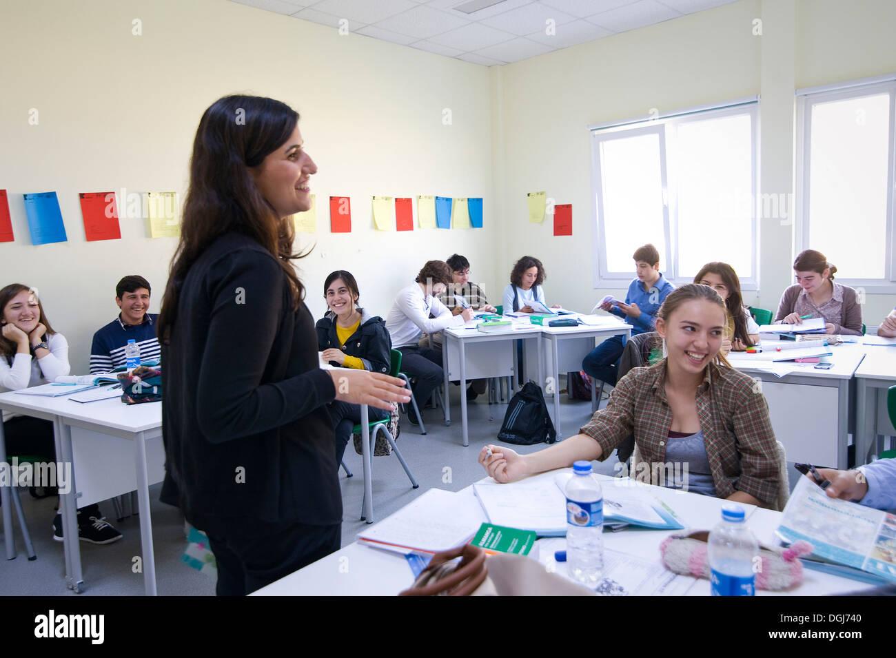 Turquie, Istanbul: la nouvelle université allemande a commencé en août 2013 avec ses 100 premiers élèves de Beykoz, sur la rive asiatique. Photo Stock