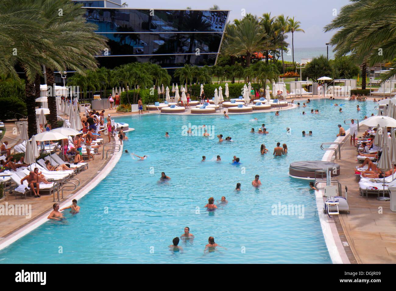 Miami Beach Florida Collins Avenue Fontainebleau Miami Beach