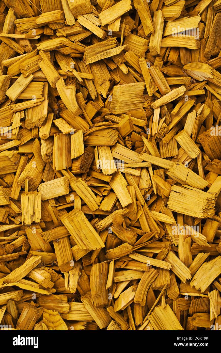 Les copeaux de bois, l'arrière-plan Photo Stock