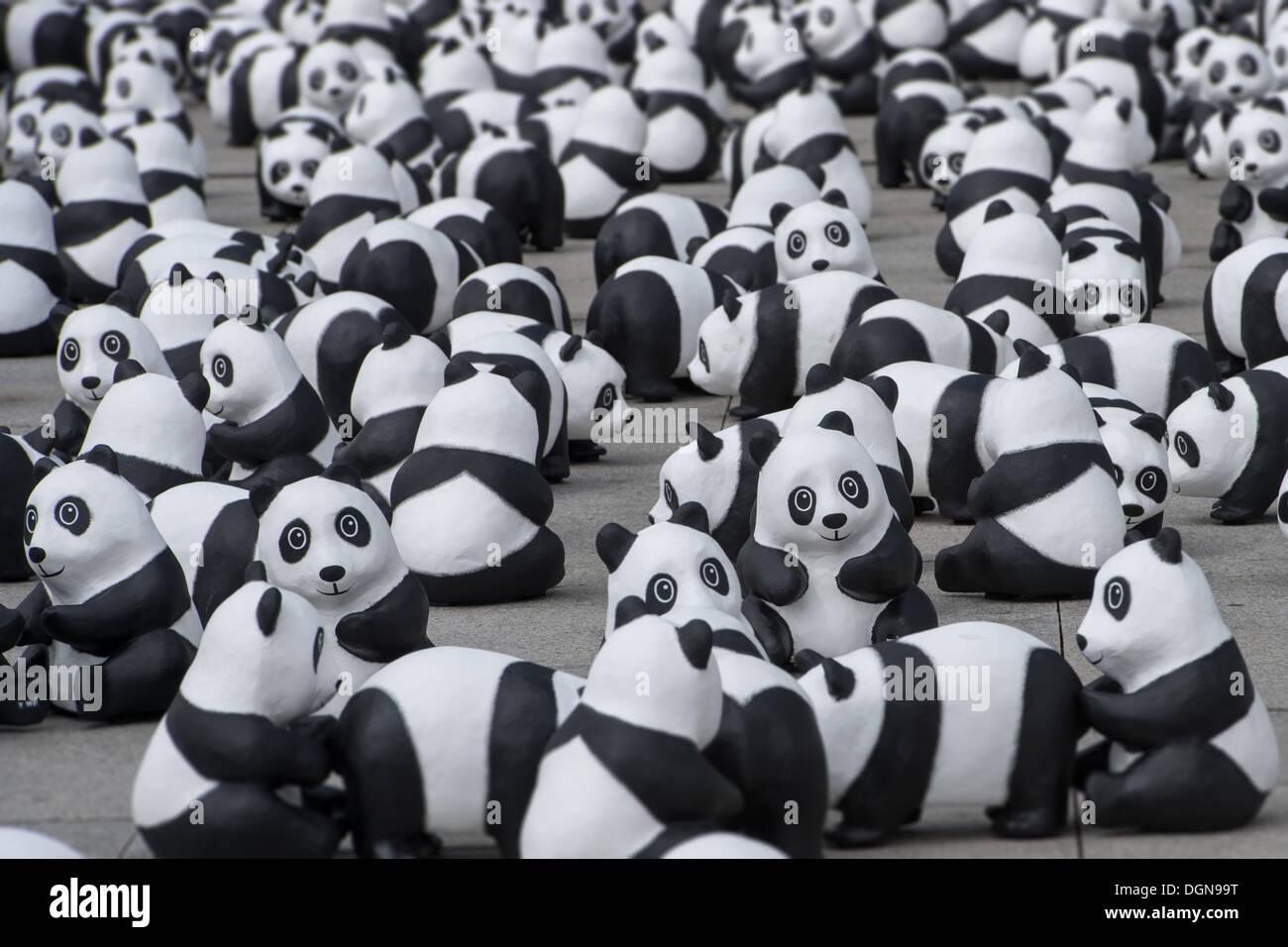Berlin, Allemagne, le WWF fête son 50 e anniversaire - Banque D'Images