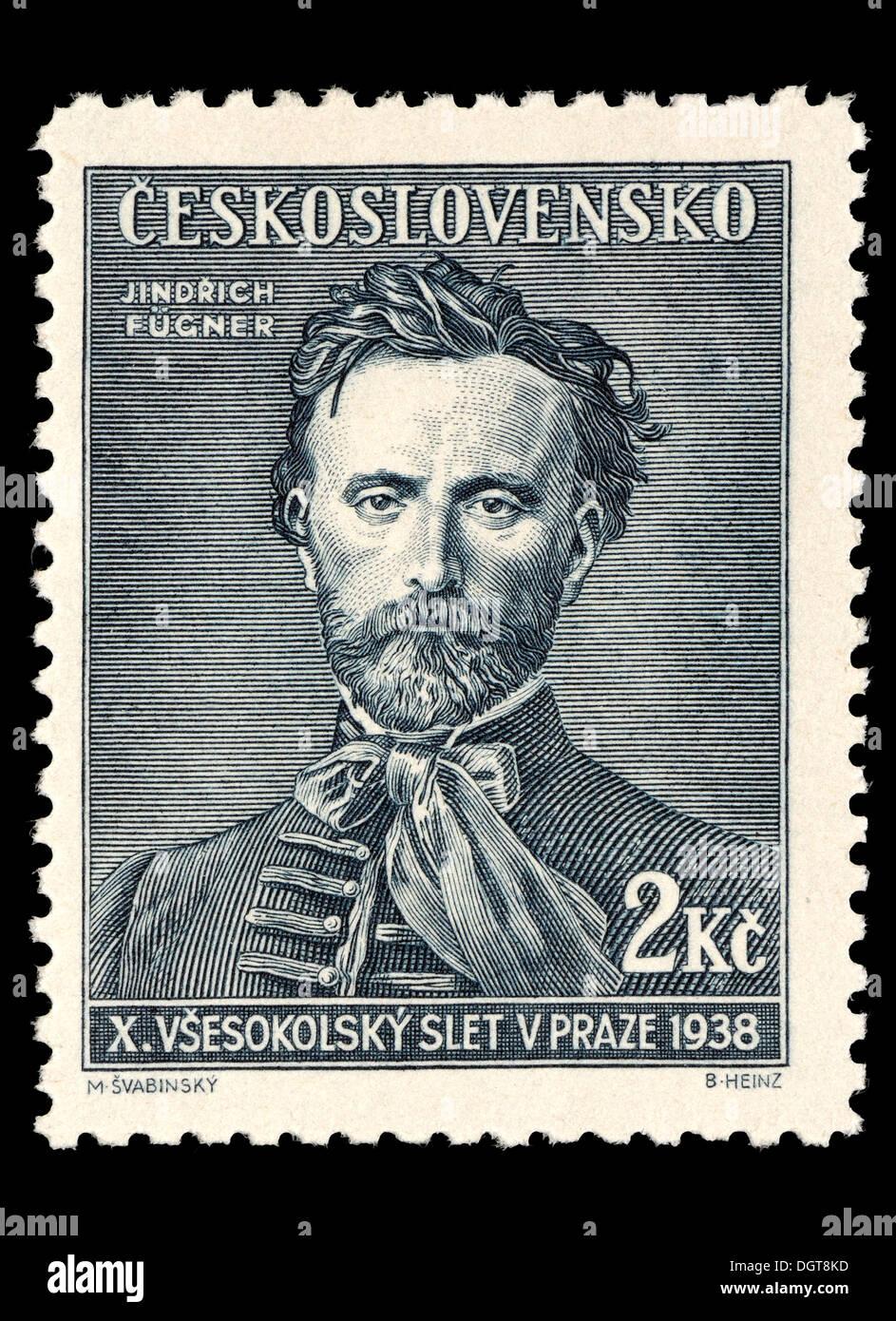 Timbre-poste de la Tchécoslovaquie - Jindrich Fugner (1822-65) 8a1d37ea987