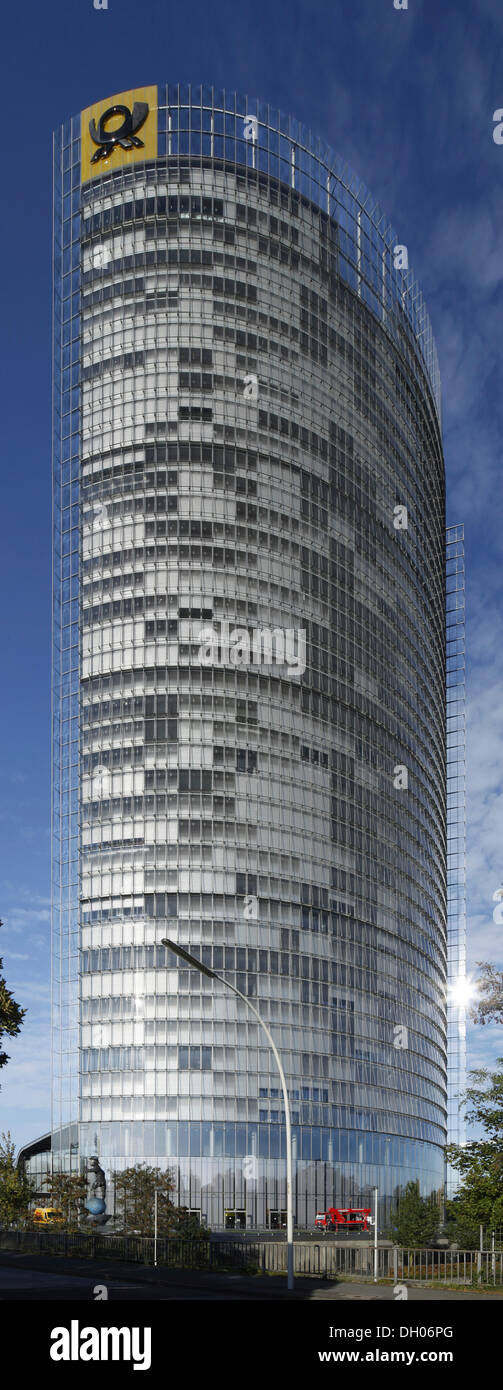 Post-Tower, Deutsche Post AG de l'administration centrale, Bonn, Rhénanie-du-Nord - Westphalie, Banque D'Images