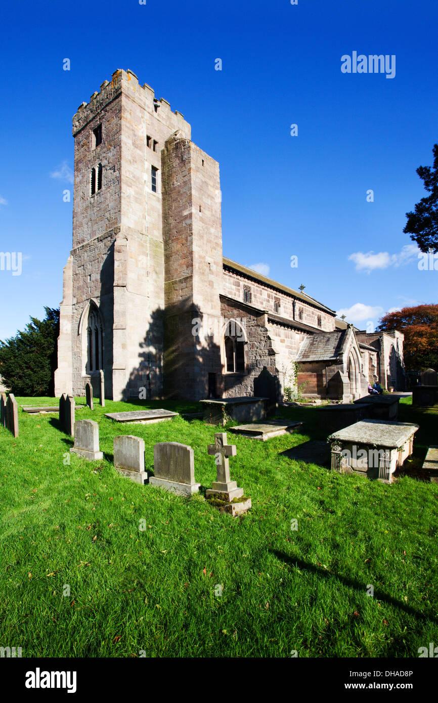 All Saints Church Ripley North Yorkshire Angleterre Photo Stock