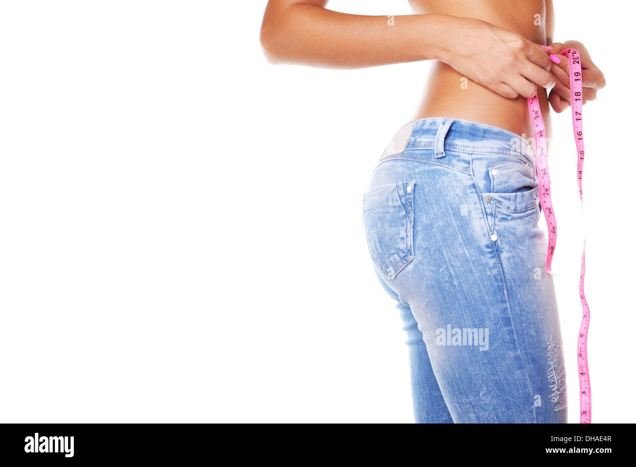 soin du corps femme Photo Stock