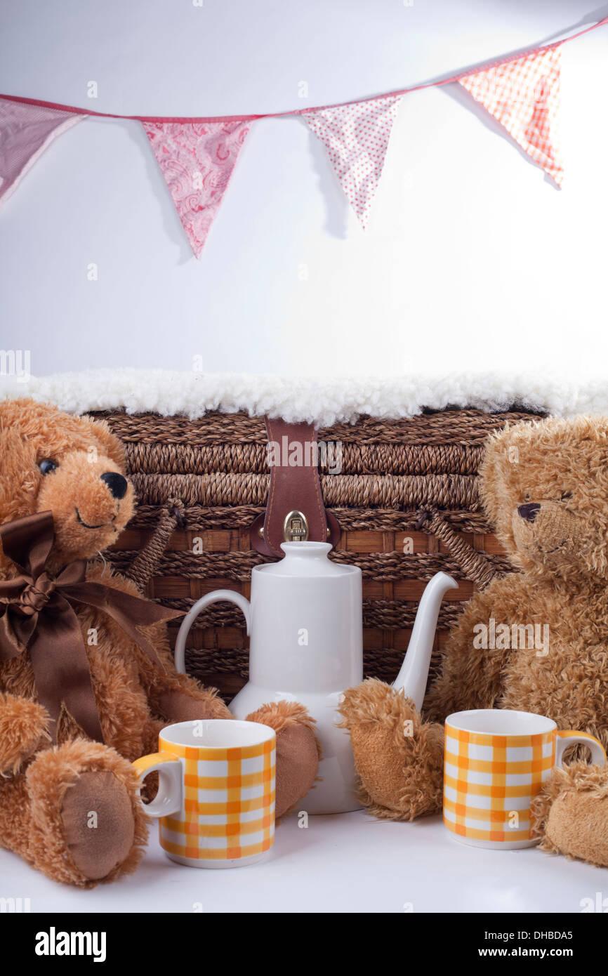 Teddy Bear Picnic Photo Stock