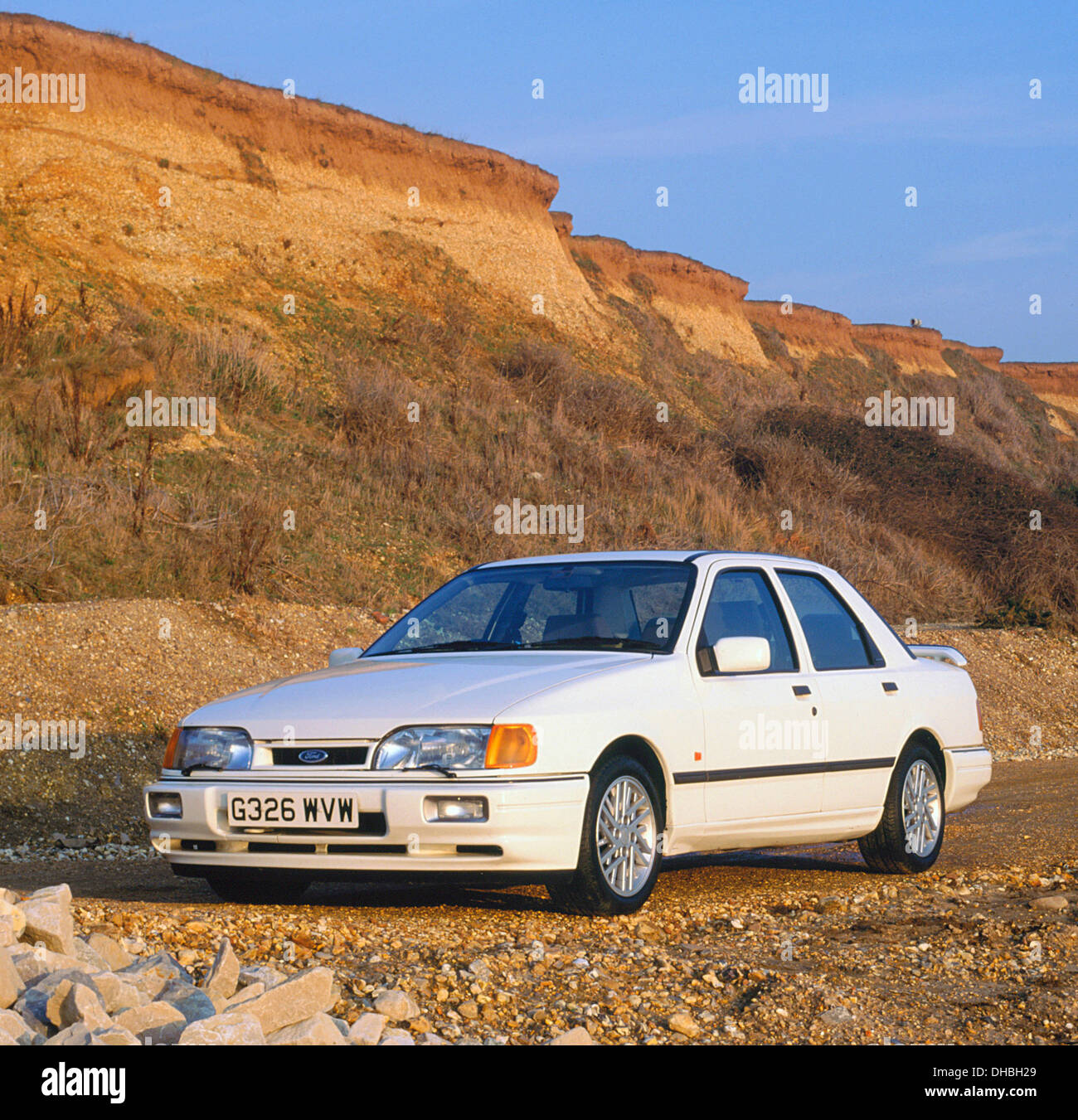 1989 Ford Sierra RS Cosworth Saphir Photo Stock