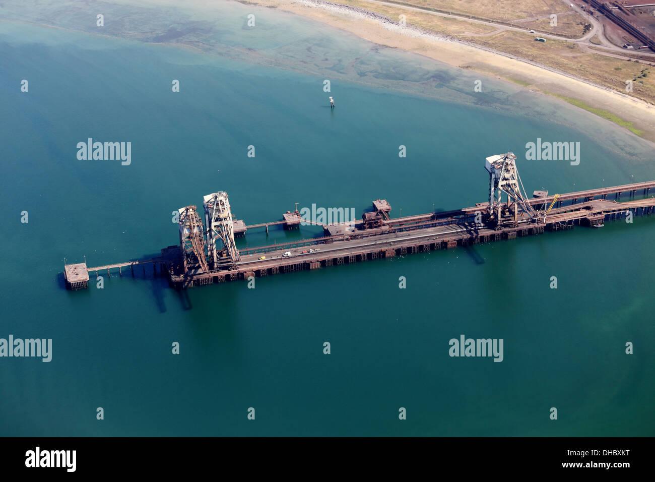 Tata Steel Works, Port Talbot Banque D'Images