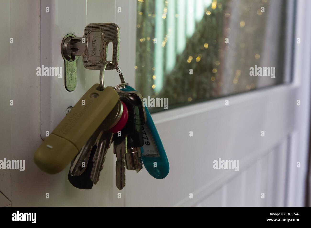 Porte clés Photo Stock