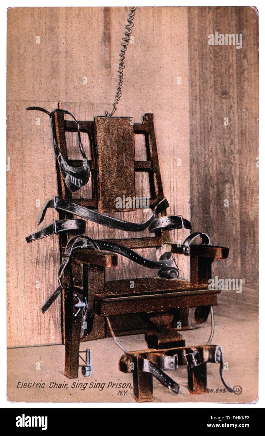Vintage execution photos vintage execution images alamy - Execution chaise electrique video ...