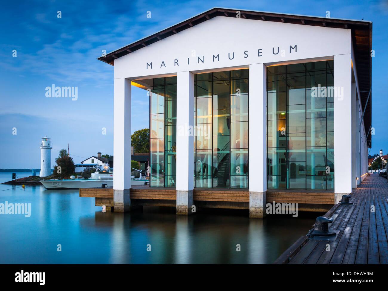 Musée maritime national à Karlskrona, Suède Photo Stock