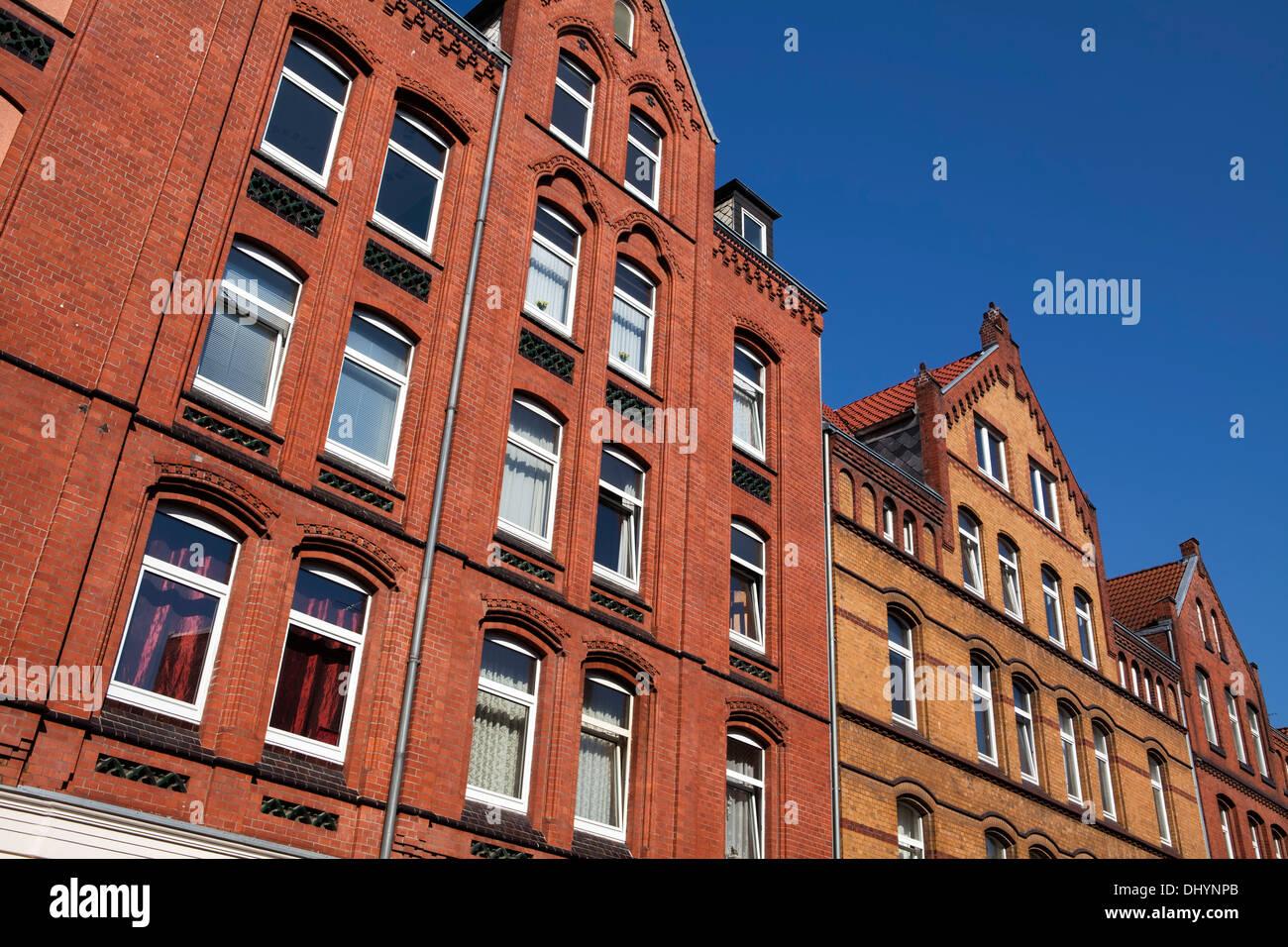L'architecture historique, Linden, Hanovre, Basse-Saxe, Allemagne, Europe, Photo Stock