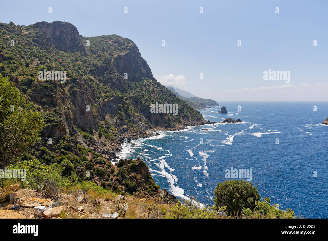 Antiochia ad Cragum, Gazipasa, Antalya province, Riviera turque, Turquie Photo Stock