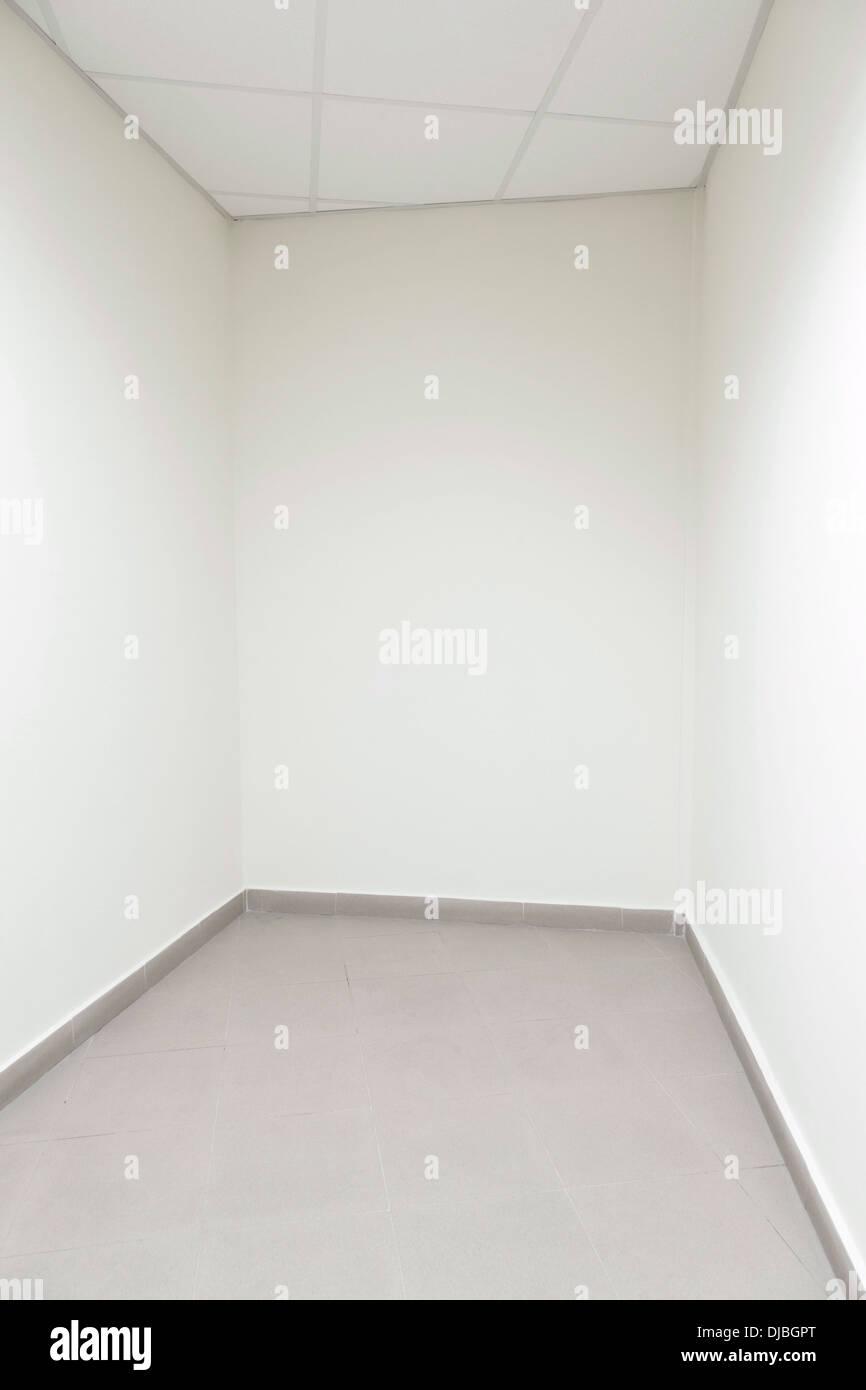 Salle vide, le tir droit Banque D'Images