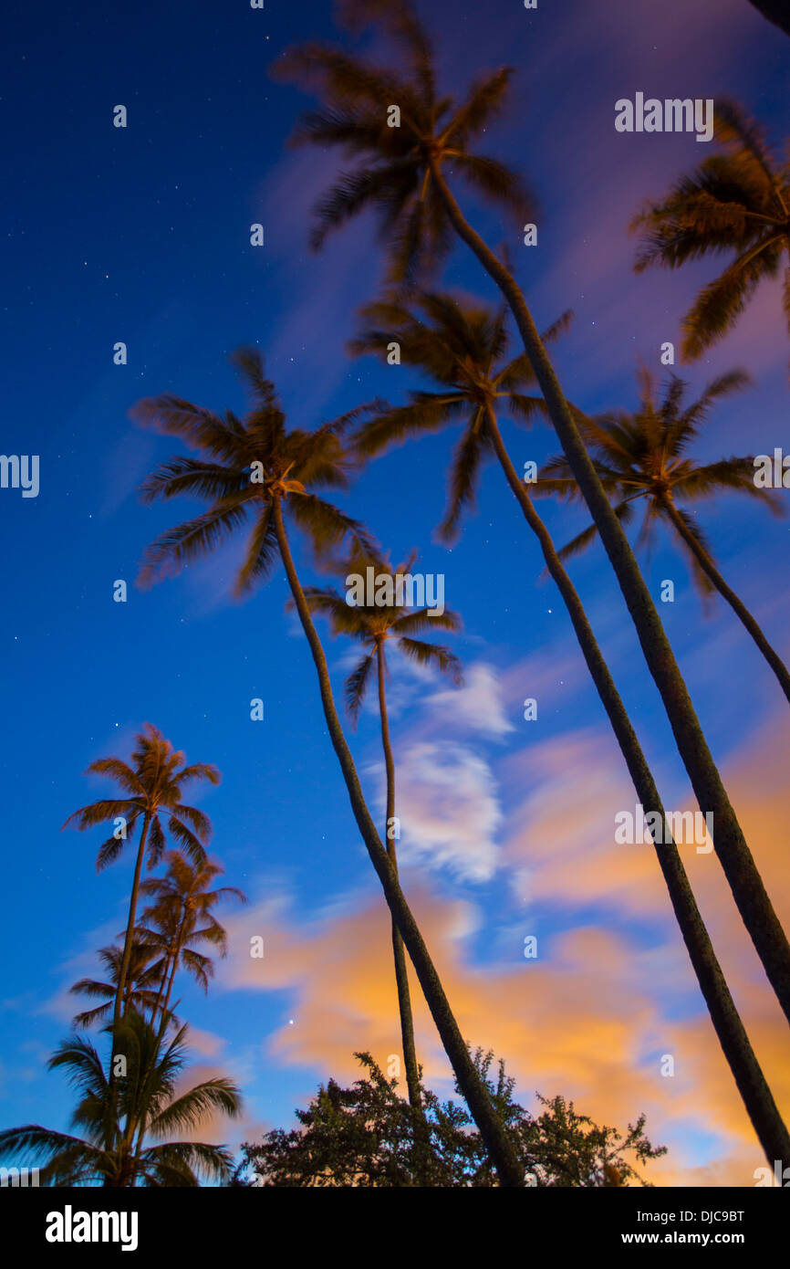 Kawaikui Beach Park, Aina Haina, Honolulu, Oahu, Hawaii Photo Stock