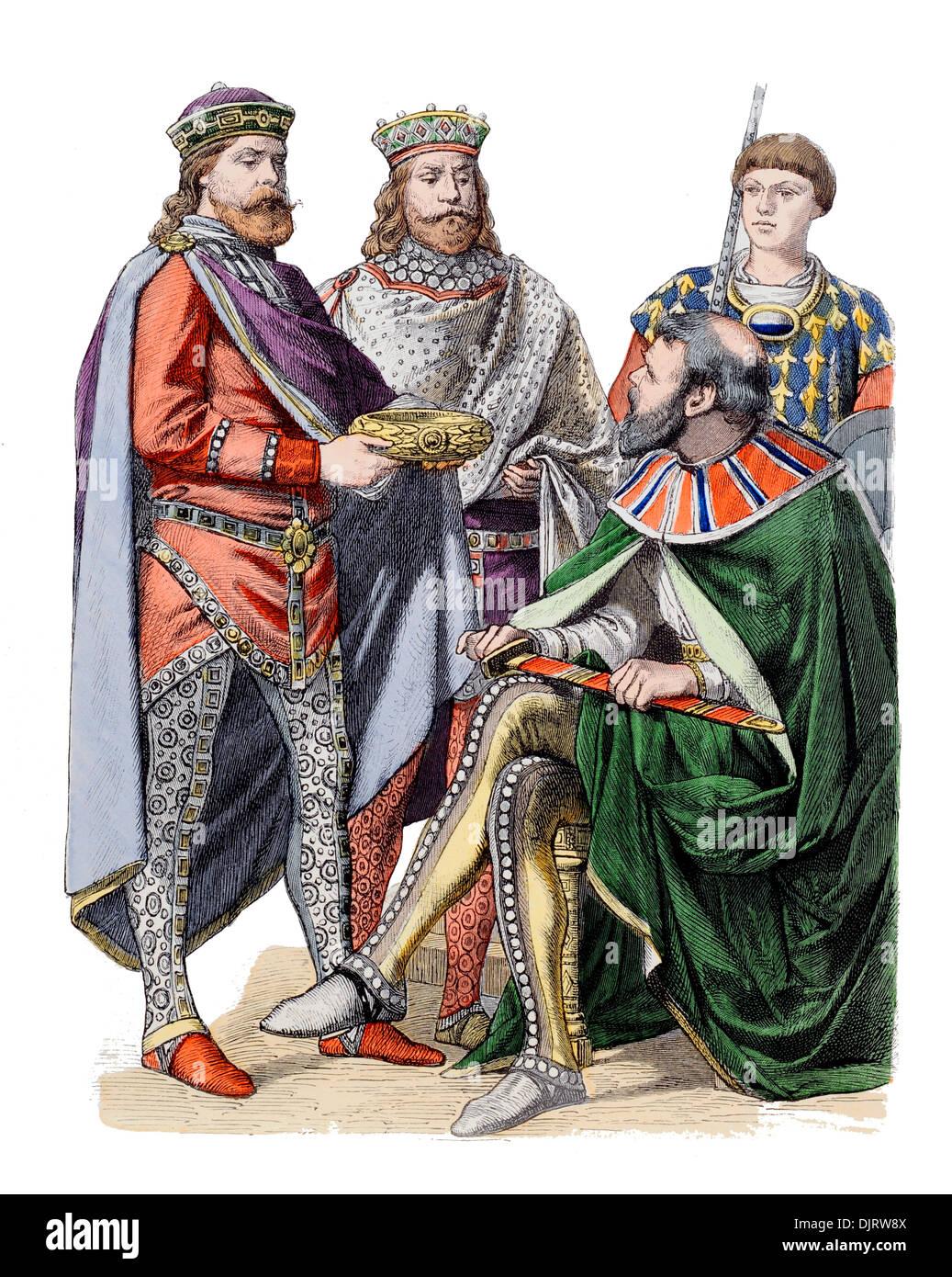6ème siècle VI 500s'est de l'Empire romain byzantin Jean VI Cantacuzène Photo Stock