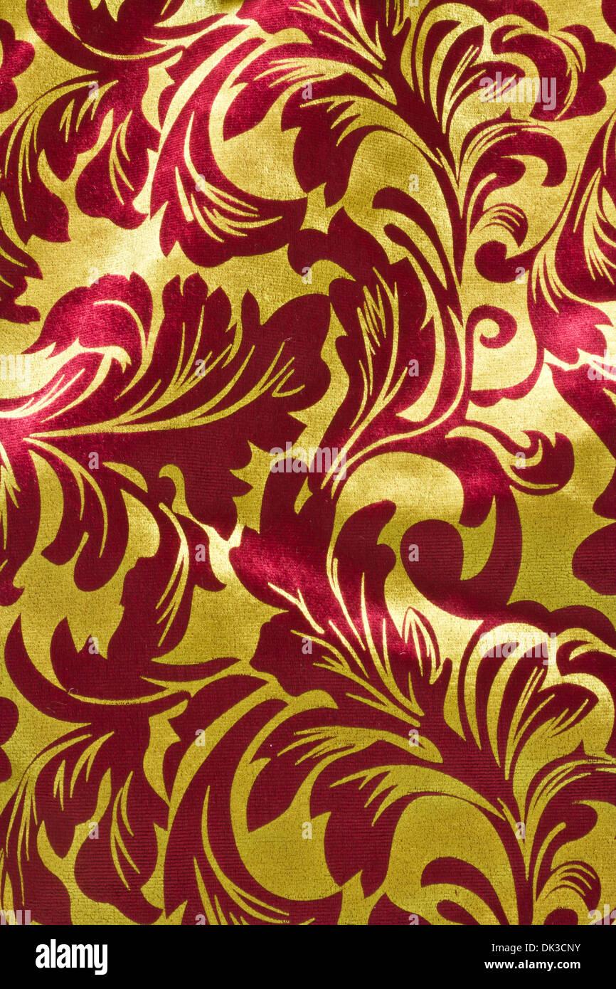 Fond De Noel Rouge Et Or Rouge Et Vert Vertical Texture Papier