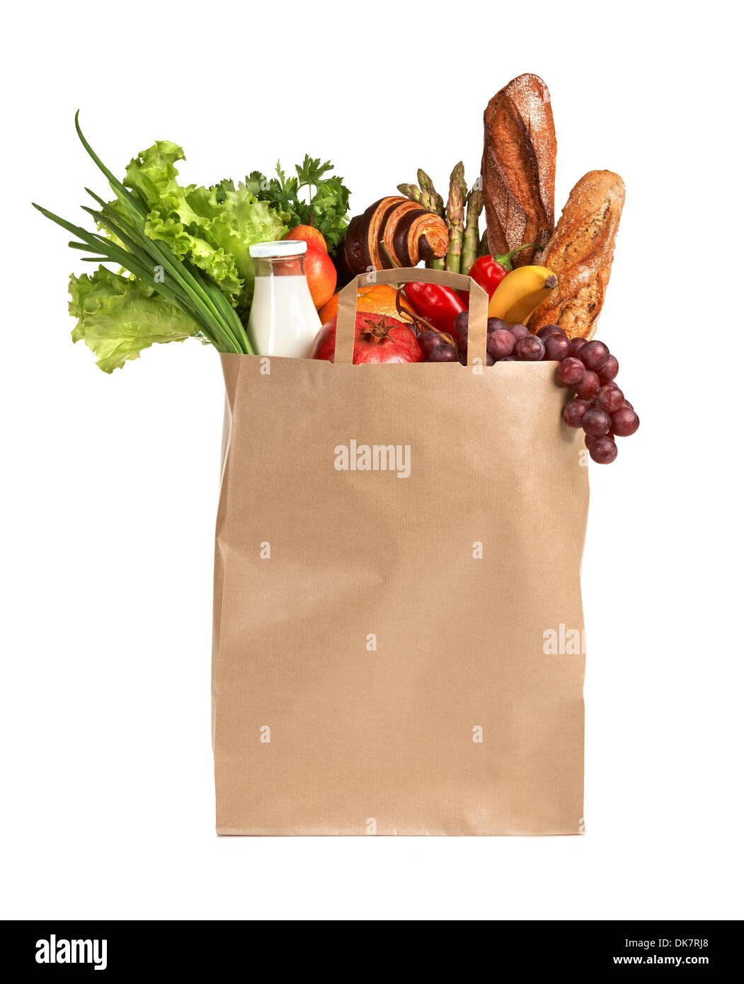 Aliments santé à acheter Photo Stock