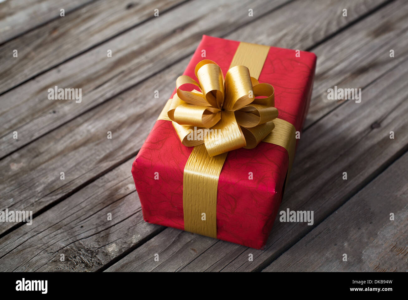 Cadeau pour la saint valentin ou Noël Photo Stock