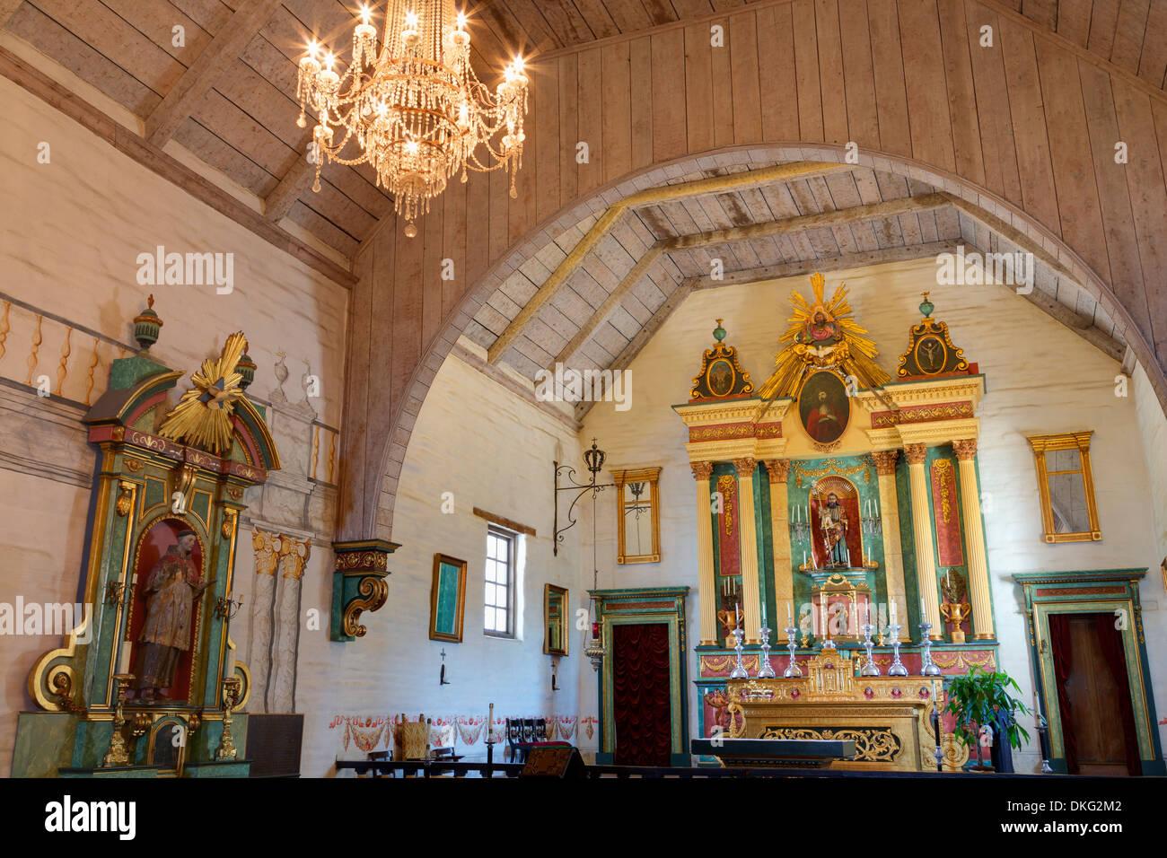 Mission San Jose, Fremont, Californie, États-Unis d'Amérique, Amérique du Nord Photo Stock