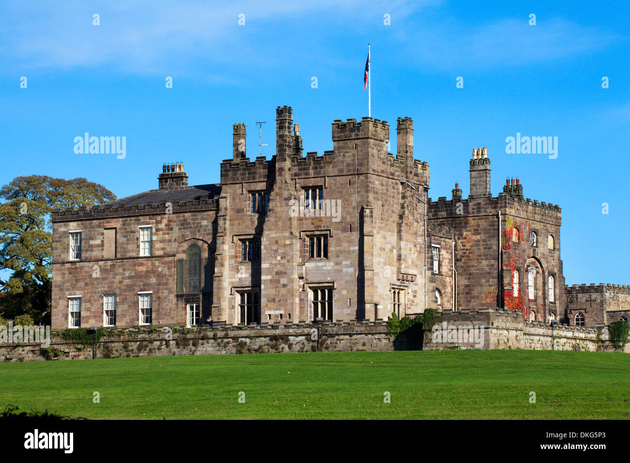 Ripley Castle, Ripley, Yorkshire du Nord, Yorkshire, Angleterre, Royaume-Uni, Europe Photo Stock