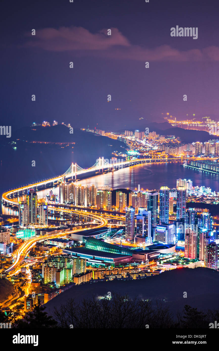 Busan, Corée du Sud. Photo Stock
