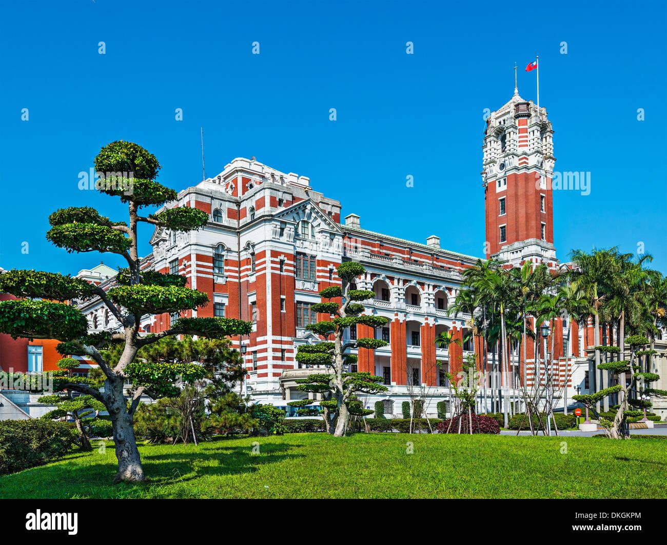 Palais présidentiel à Taipei, Taiwan. Photo Stock