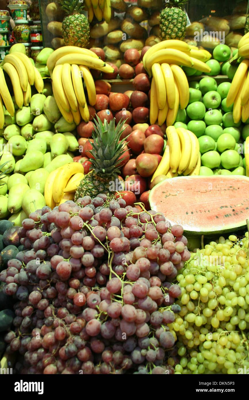Fruit est la santé. Photo Stock