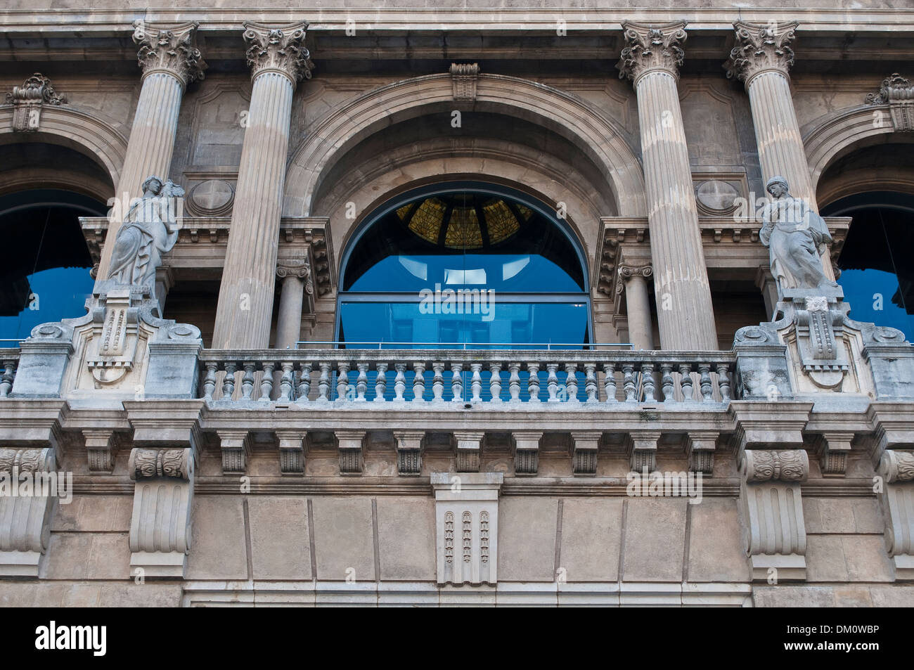 Musée national d'Art de Catalogne, MNAC, Barcelone, Catalogne, Espagne Photo Stock