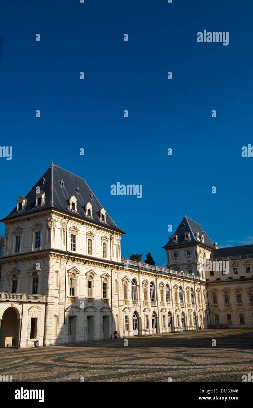 Castello del Valentino (1660) architecture logement maintenant faculté Parco del Valentino Turin ville région du Piémont Italie Photo Stock